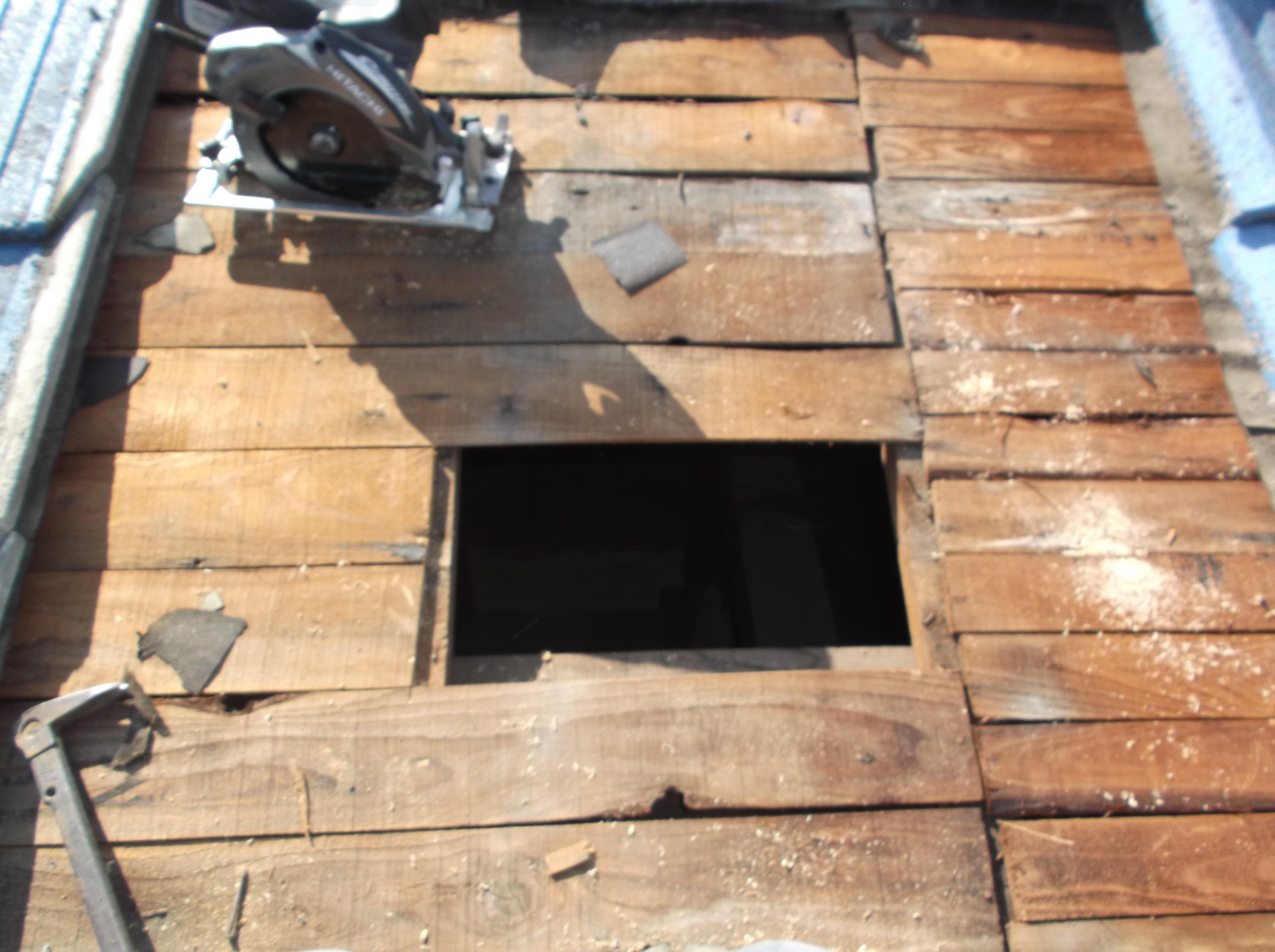 屋根工事 雨漏り修理 下地材 岡山