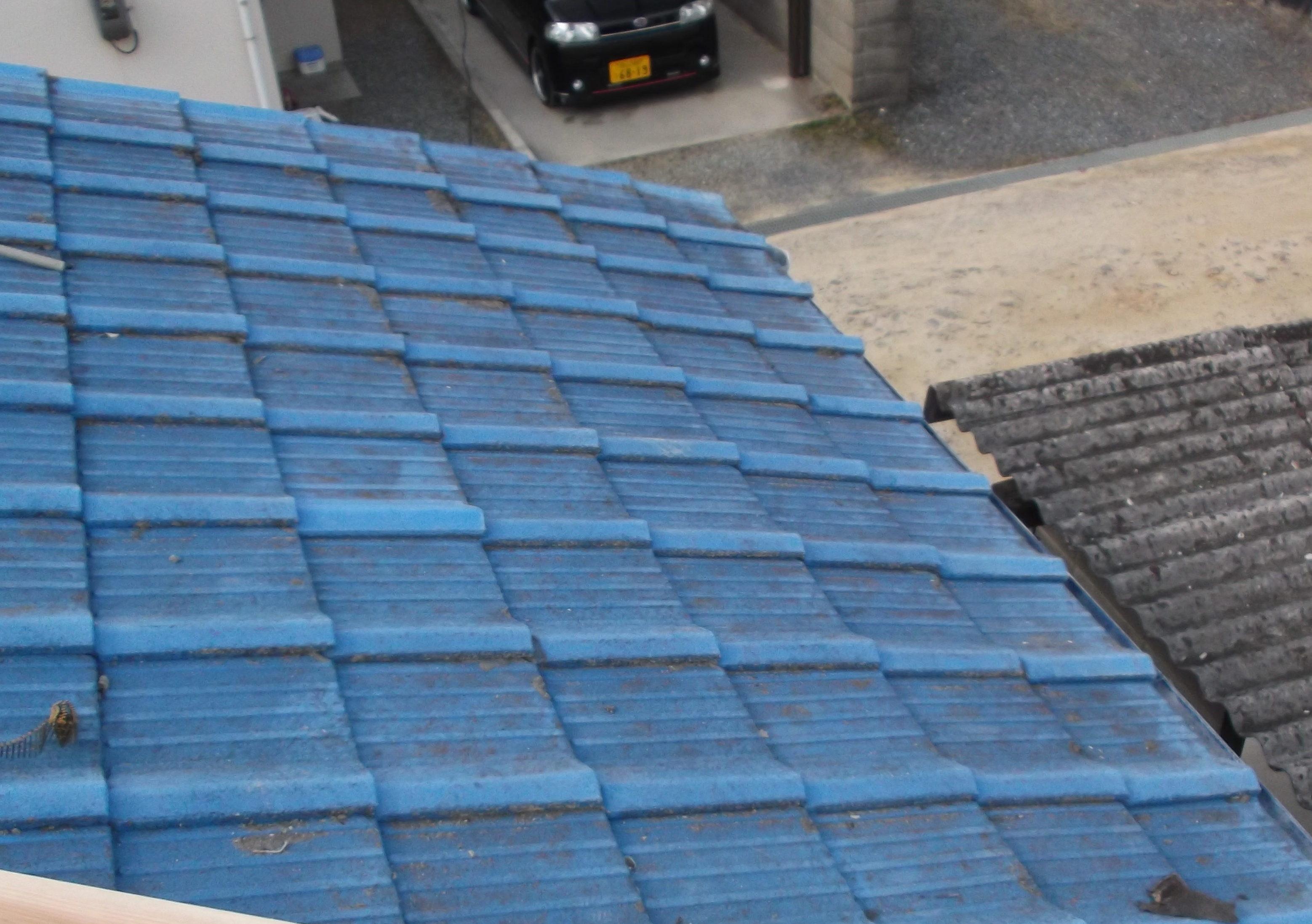 屋根工事 雨漏り修理 完工 岡山