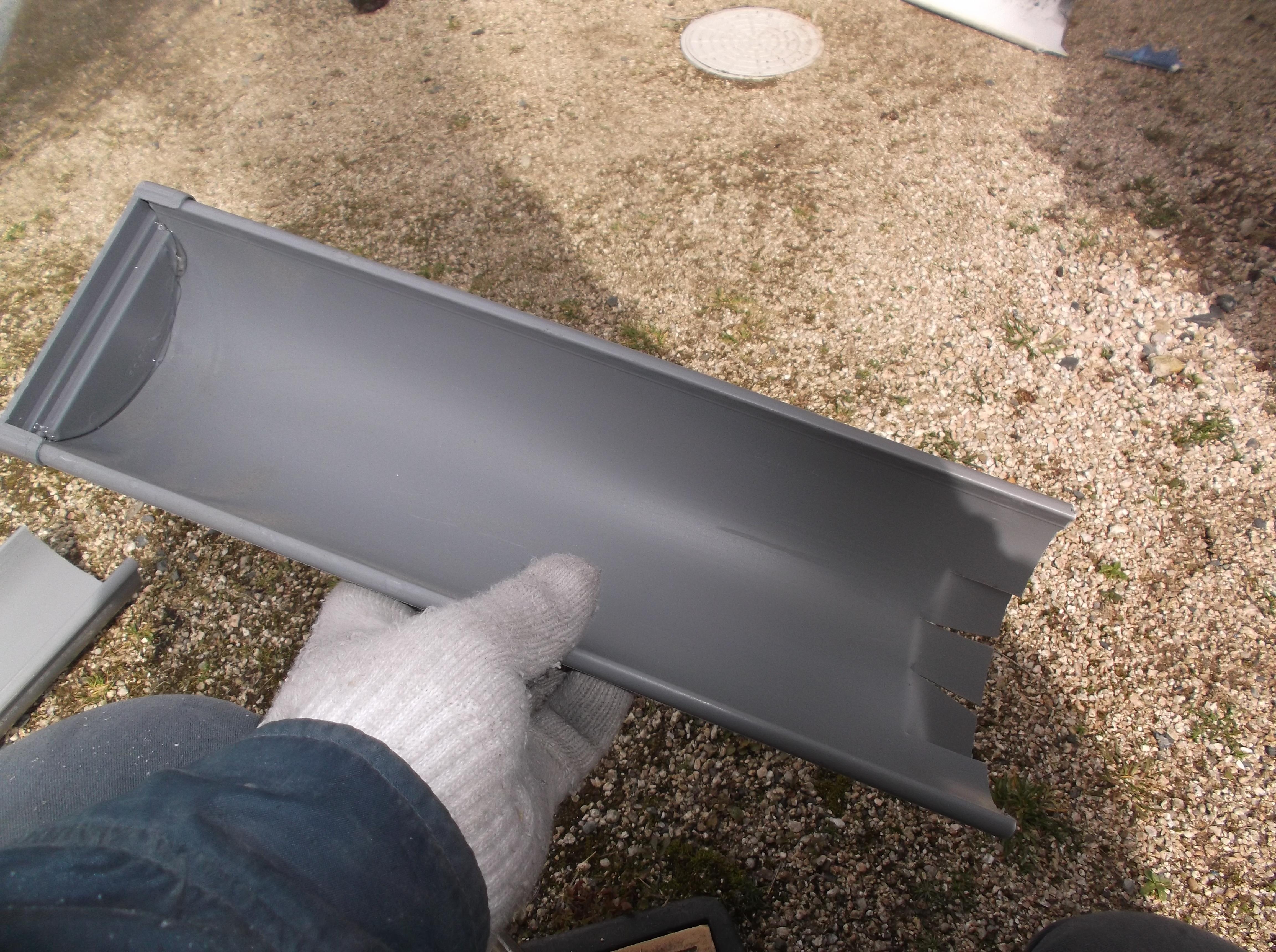 屋根工事 雨漏り修理 雨どい修理 岡山