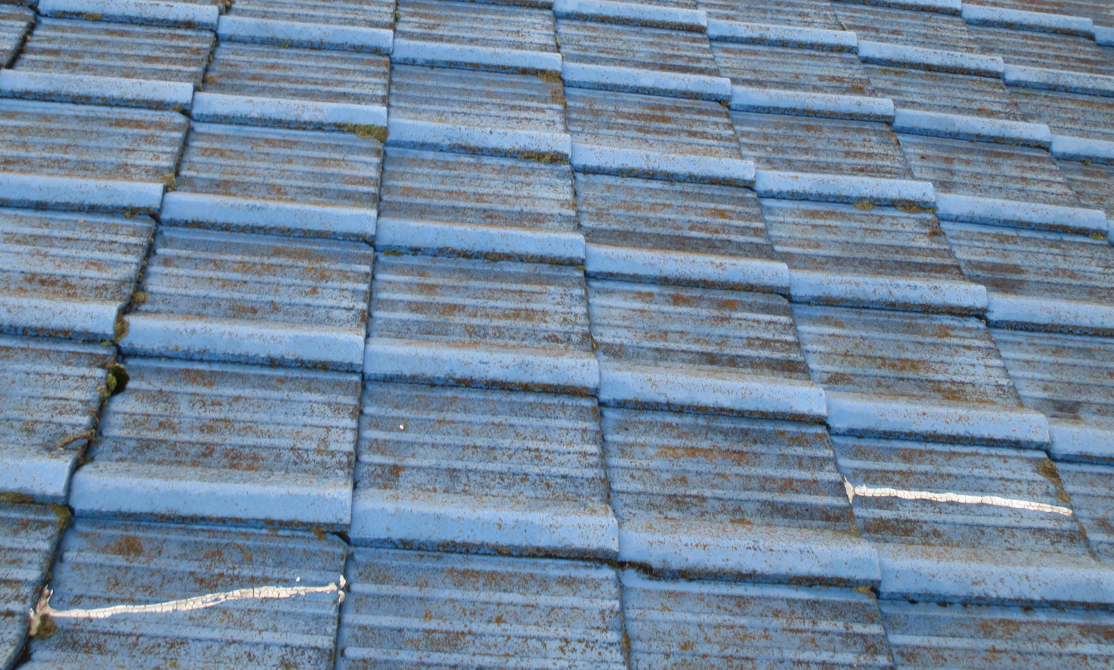 屋根工事 雨漏り修理 セメント瓦