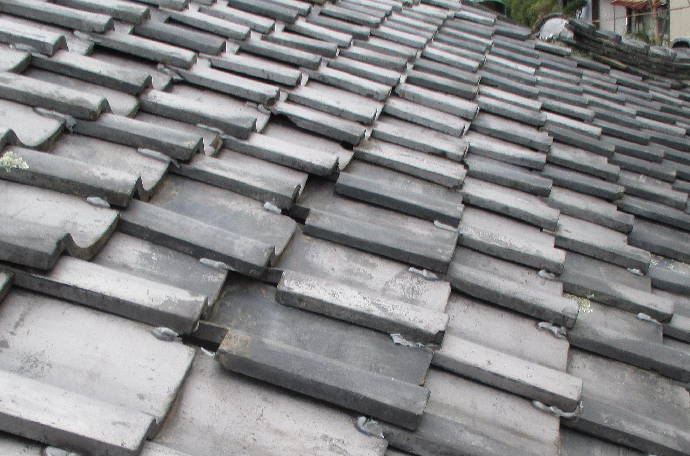 屋根リフォーム 瓦葺き替え 瓦点検 岡山