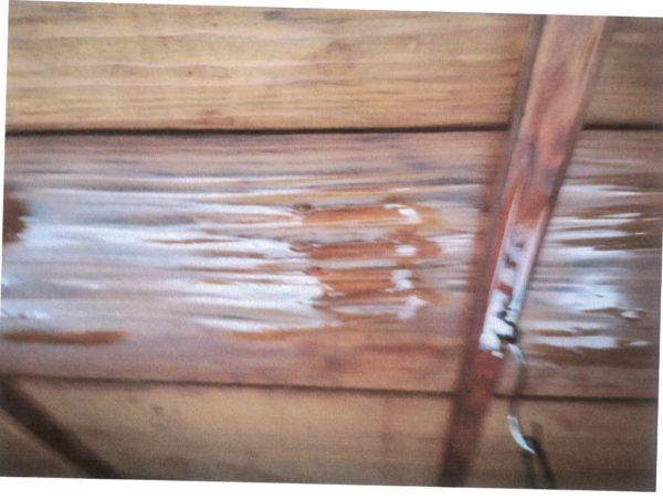 岡山市北区 雨漏り修理 天井から雨水が