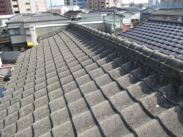 岡山市南区 屋根工事 雨漏り点検