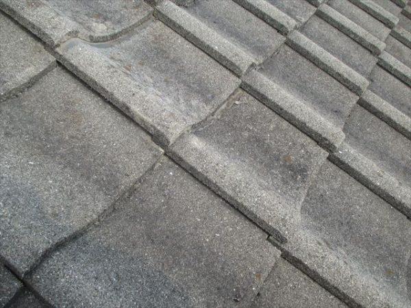 岡山市南区 屋根工事 雨漏り修理 雨漏り点検 瓦浮き調整