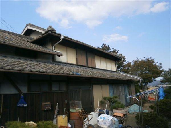 屋根瓦葺き替え工事 施工前