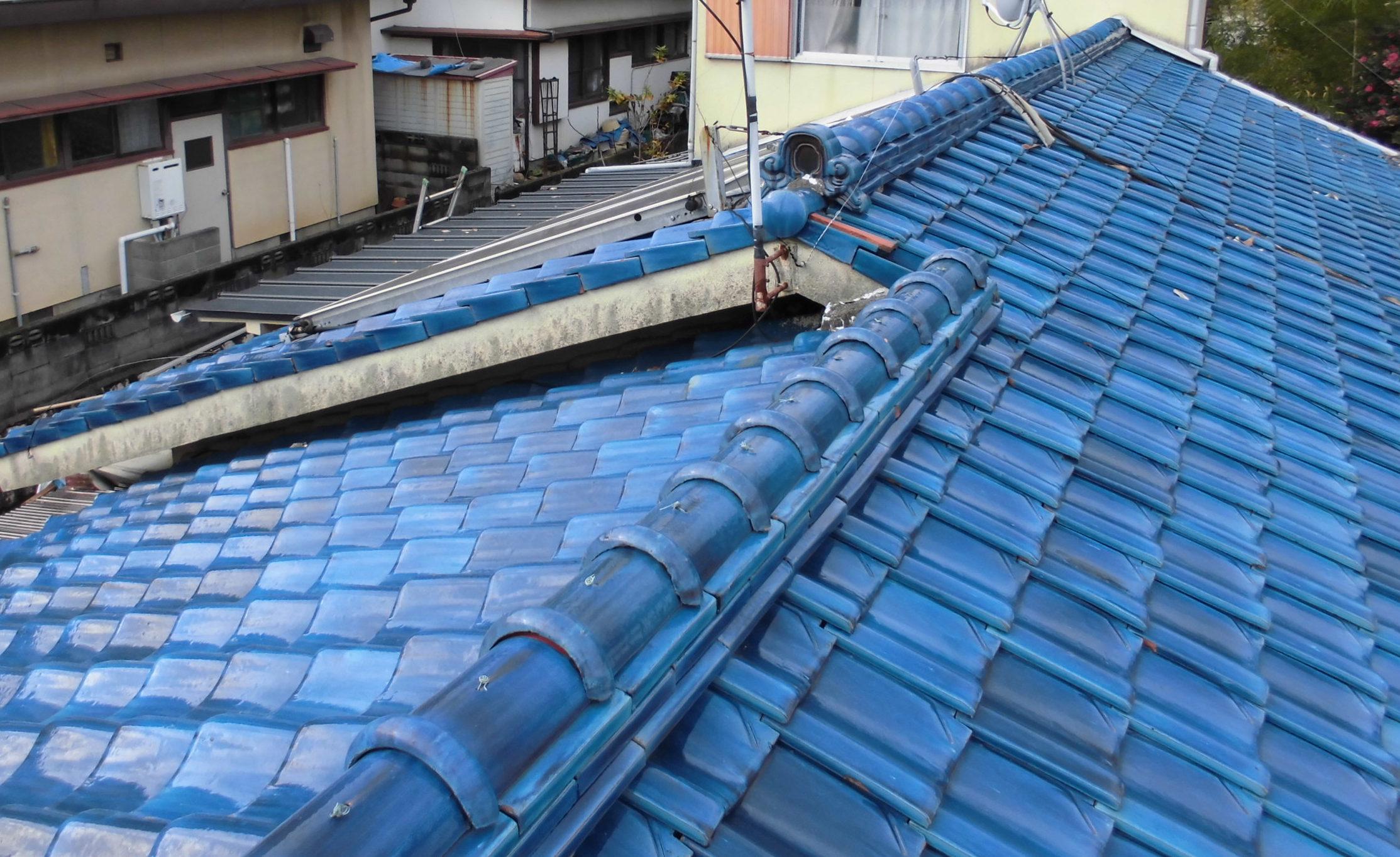 瓦修理 雨漏り修理 岡山