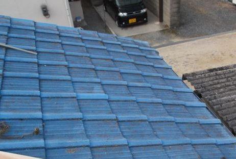 岡山市南区で屋根工事 雨漏り修理 完了