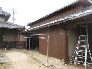 雨どい工事  雨どい取り換え 岡山市北区