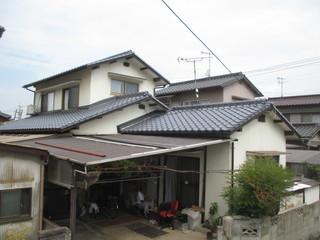屋根工事(岡山県倉敷) Ⅿ様邸