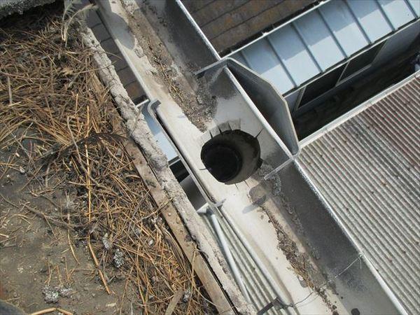屋根工事 雨どい補修 岡山市南区 K様邸