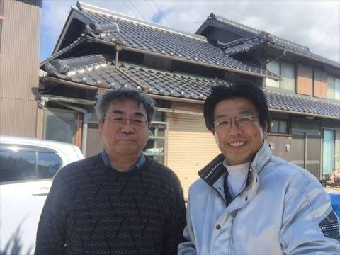 屋根リフォーム 瓦葺き替え工事 岡山県玉野市 k様邸